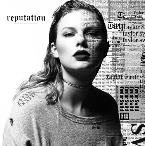 Taylor Swift, cover from her new Album:reputation