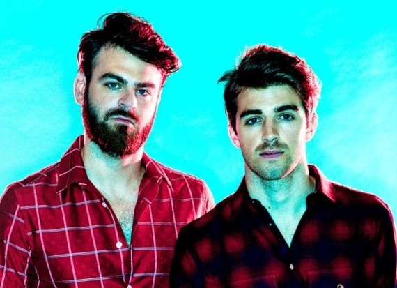 The Chainsmokers, Andrew Taggart and Alex Pall